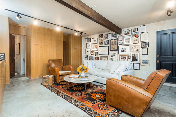 Midcentury compound with a guest house in the Hollywood Hills