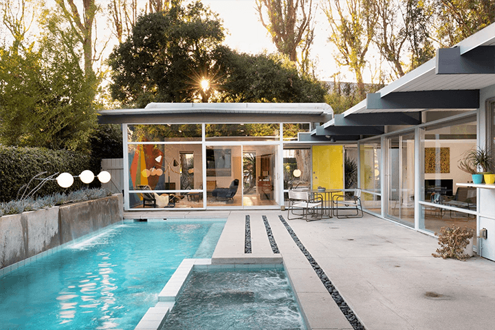 Robert Smith Residence by architects Eugene Weston and Douglas Byles