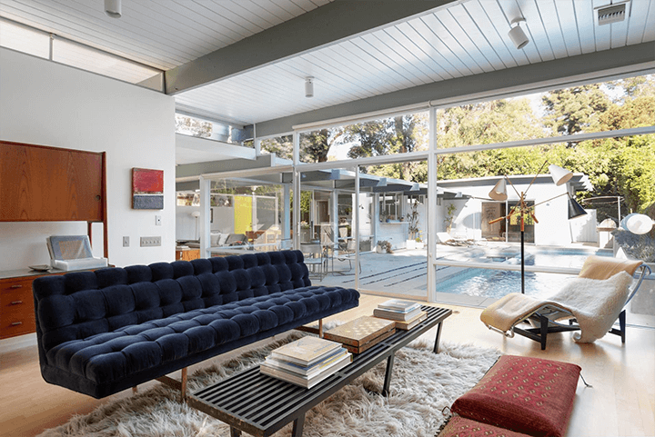 The Robert Smith Residence by architects Eugene Weston and Douglas Byles