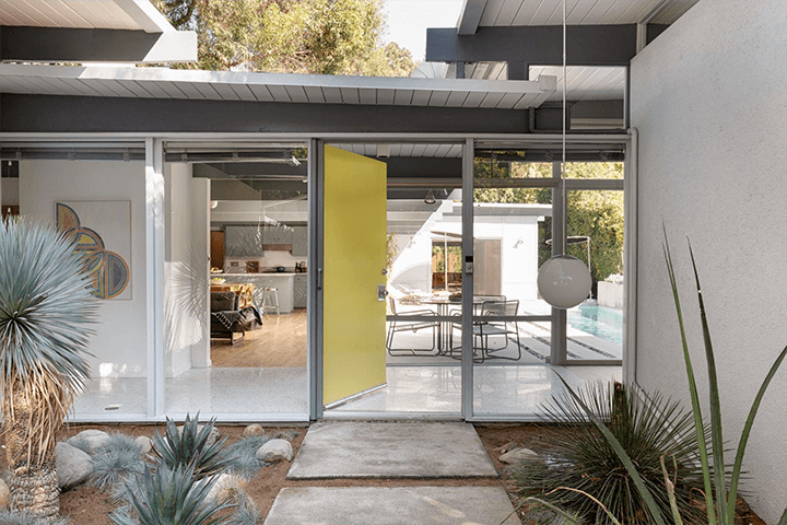 The iconic Robert Smith Residence in Pasadena by architects Eugene Weston and Douglas Byles