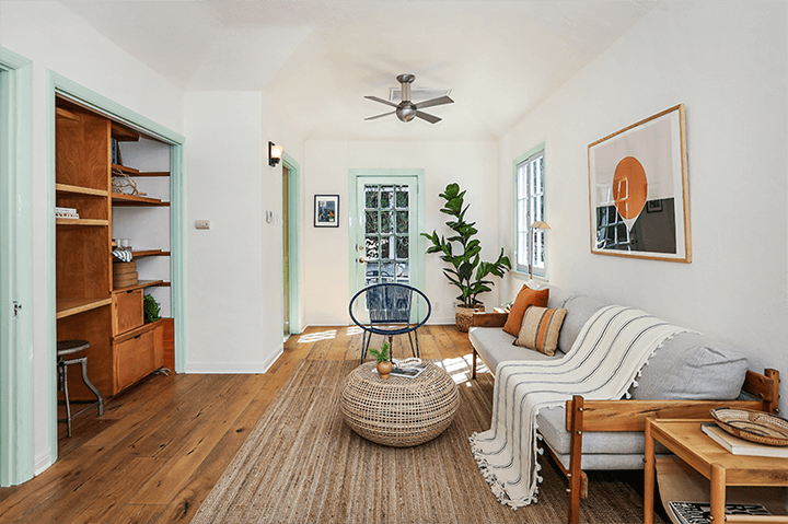 Tiny cottage for sale in Echo Park CA