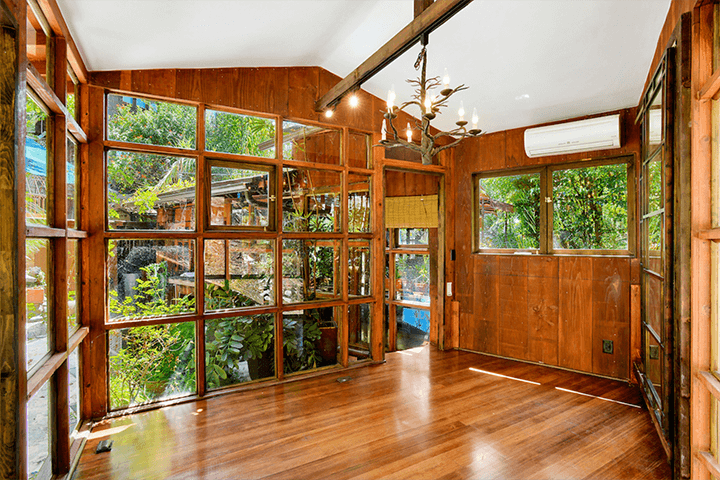 Two Craftsman Bungalow houses for sale in the Hollywood Hills
