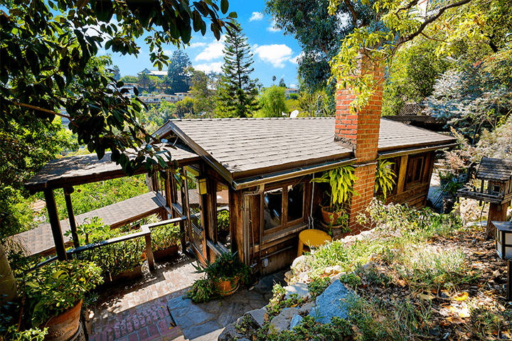 Two Craftsman Bungalows for sale in the Hollywood Hills