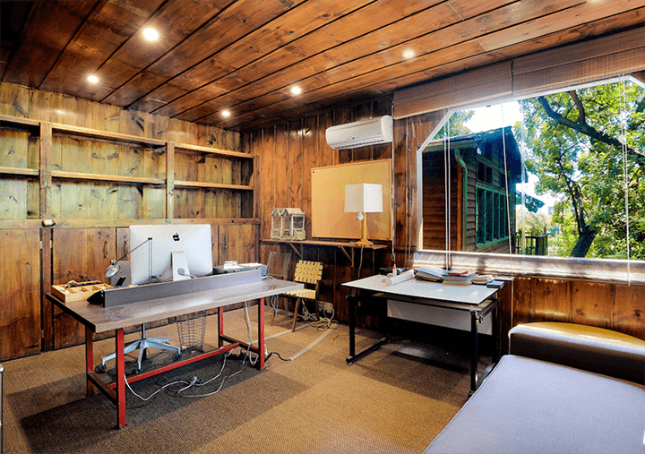 Two Craftsman Bungalows residences for sale in the Hollywood Hills