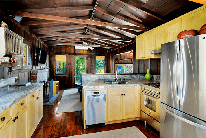 Two iconic Craftsman Bungalows for sale in the Hollywood Hills CA