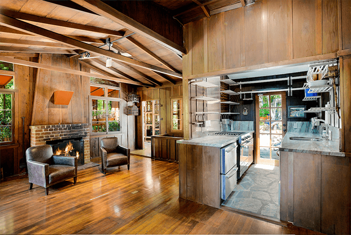 Two iconic Craftsman Bungalows for sale in the Hollywood Hills