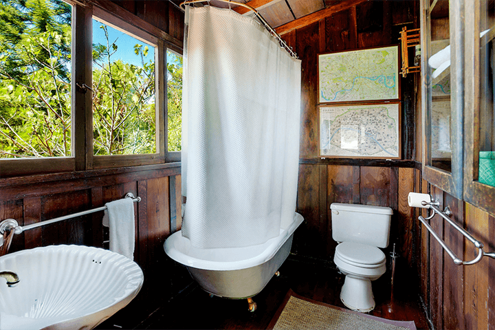 Two iconic Craftsman Bungalows in Hollywood Hills CA