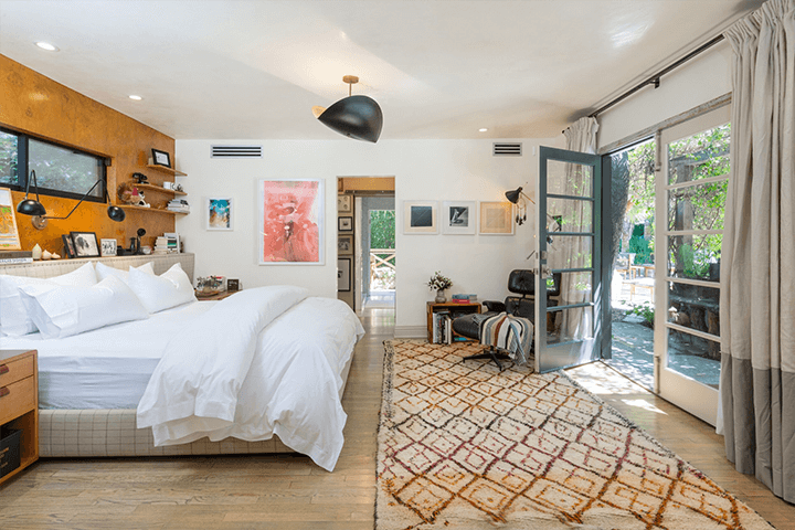 Two mid-century dwellings for sale in the Hollywood Hills
