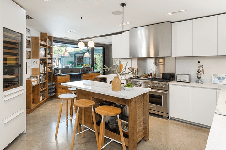 Two mid-century houses for sale in the Hollywood Hills