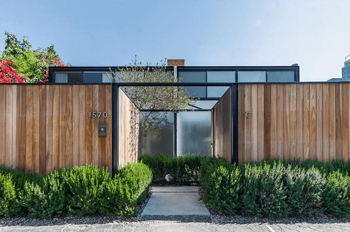 Craig Ellwood's Courtyard Apartments for sale