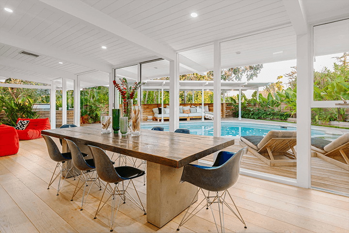 Richard Dorman-designed midcentury for sale in the Hollywood Hills, CA