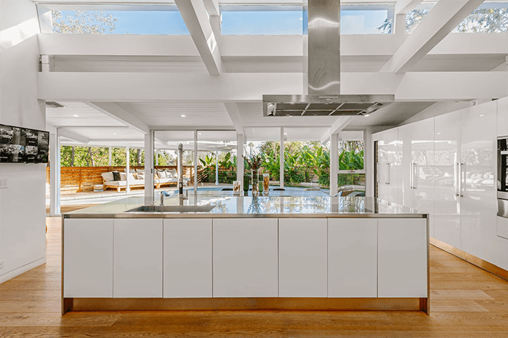 Richard Dorman-designed midcentury for sale in the Hollywood Hills CA