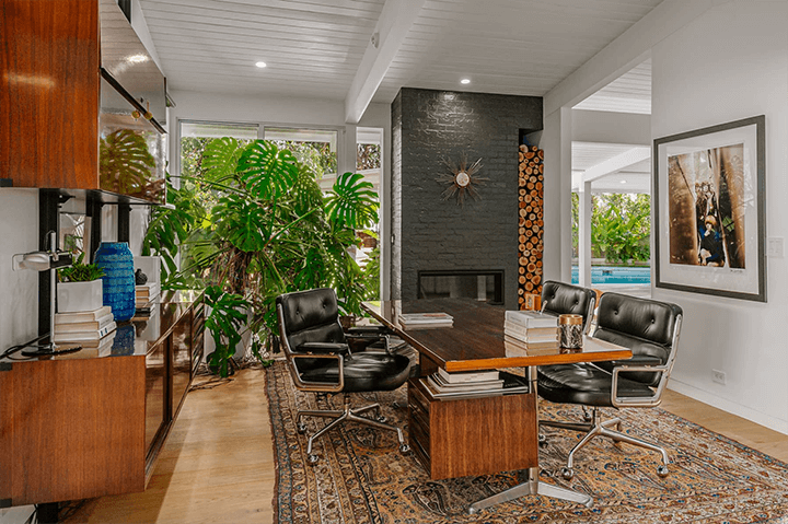 Richard Dorman-designed midcentury for sale in the Hollywood Hills
