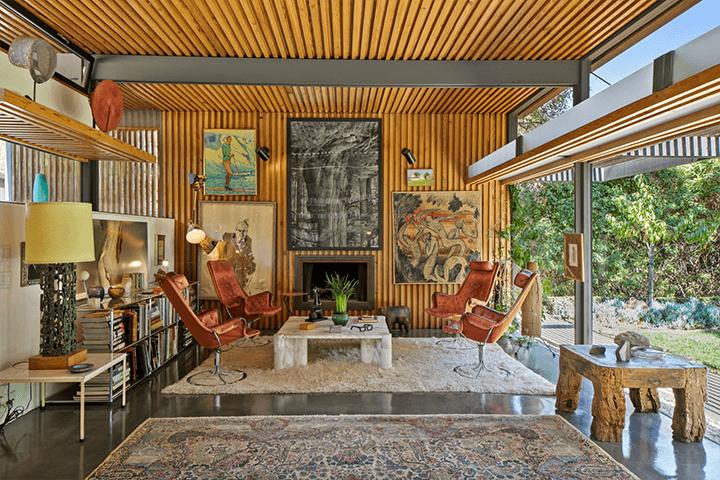 Robert Thorgusen home in Laurel Canyon