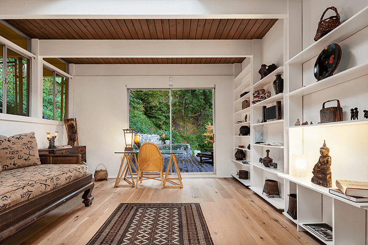 Vernon F. Duckett midcentury home for sale in the Hollywood Hills