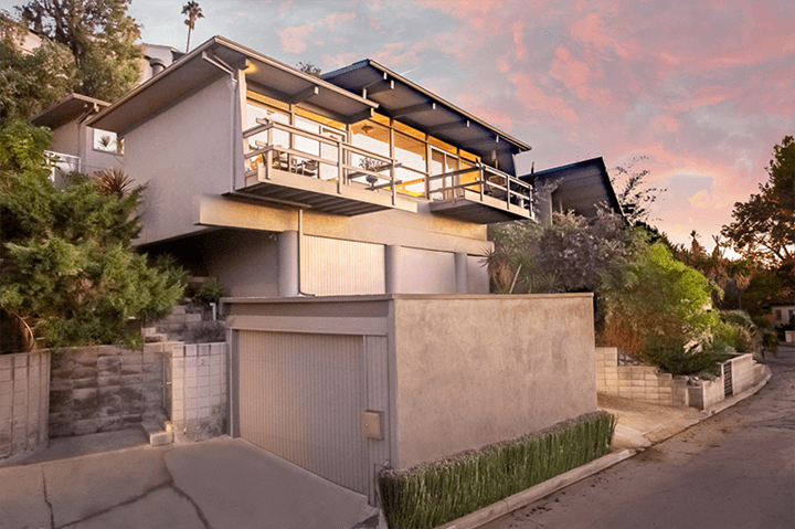 Architect Stephen Alan Siskind home for sale in Silver Lake