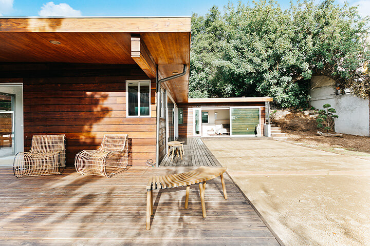 Midcentury house for sale in Eagle Rock CA