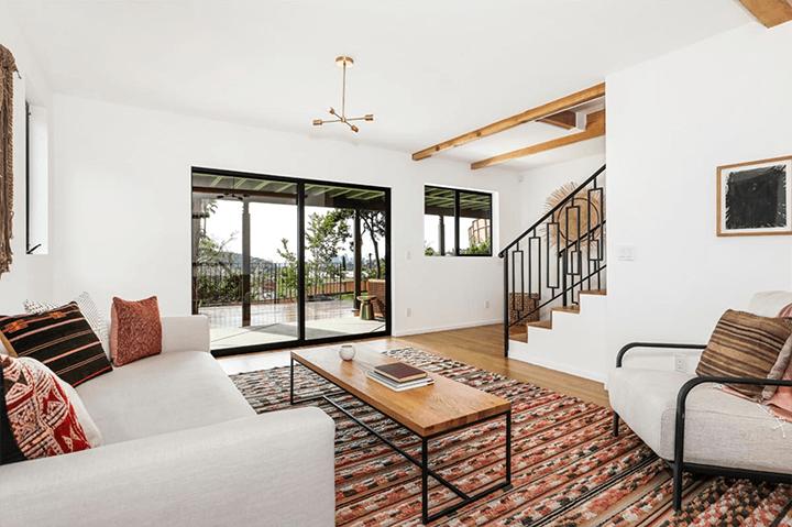 Highland Park CA mid century home for sale