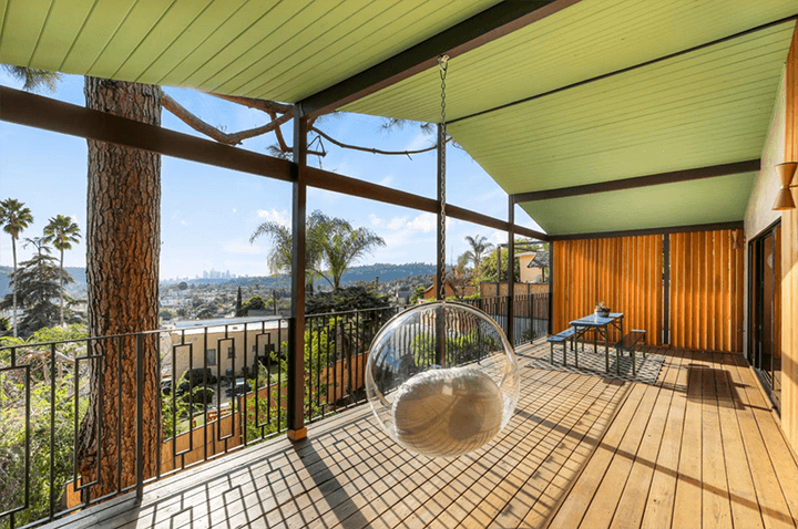 Highland Park mid century residence for sale