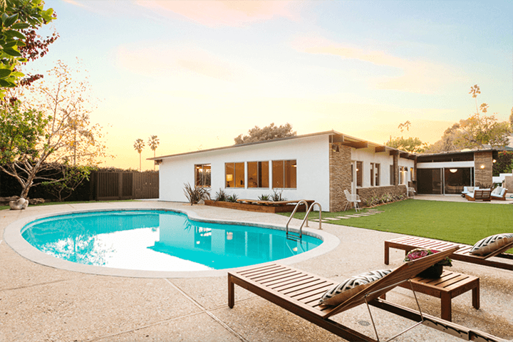 Howard Lane's Schustack Residence for sale in the Hollywood Hills CA