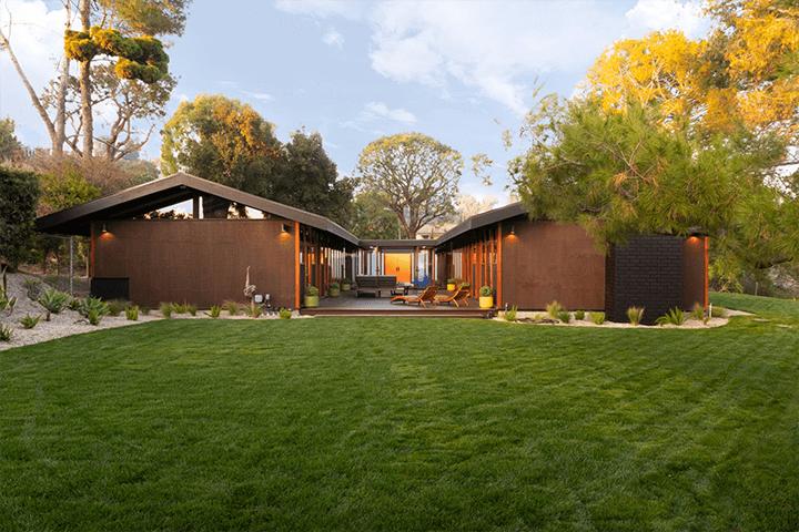 James Walter's Siodmak House in South Pasadena