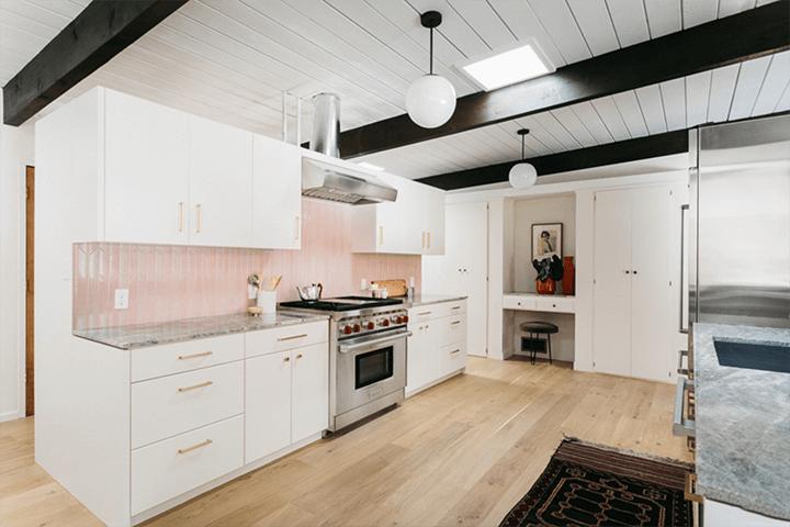 Mid century Schustack Residence by Howard Lane