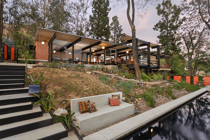 The Norcross Residence in Eagle Rock CA