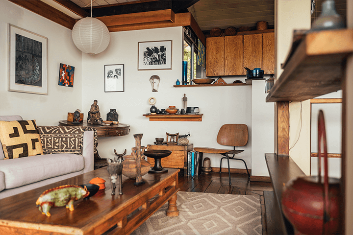 Architect Bernard Judge's mid century home
