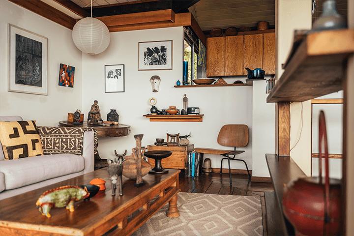 Architect Bernard Judge's mid century home