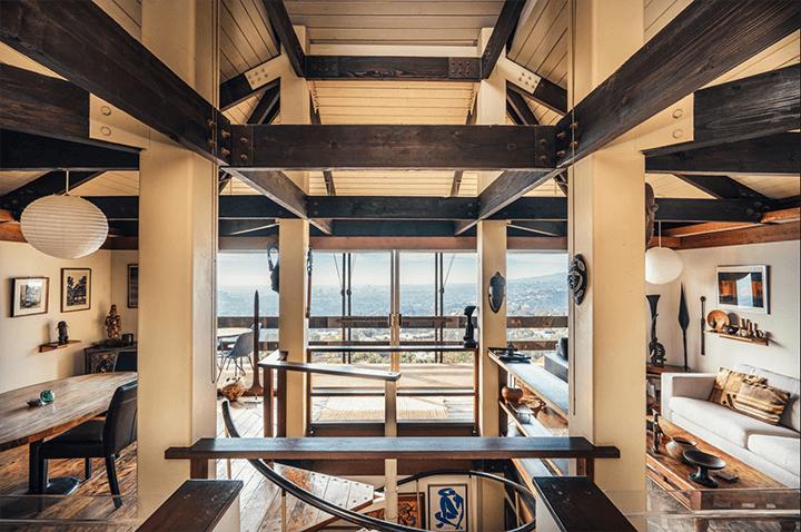 Architect Bernard Judge's mid-century home
