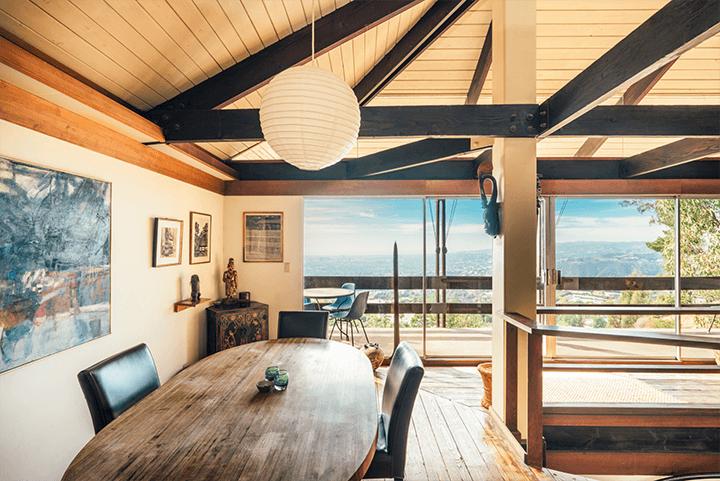 Architect Bernard Judge's midcentury home