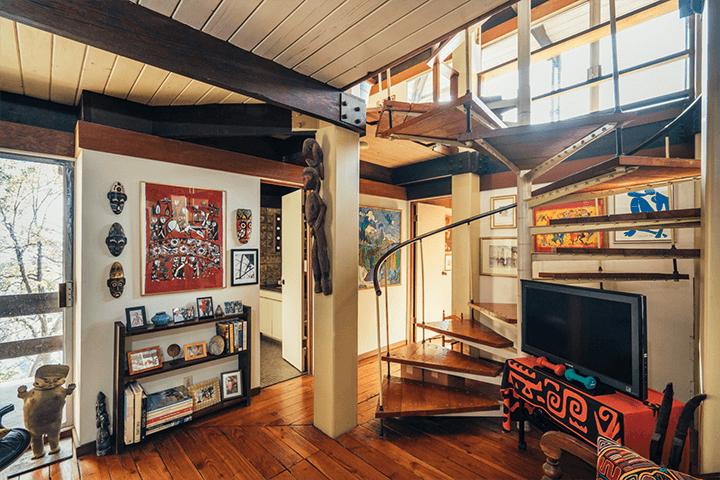Architect Bernard Judge's midcentury house
