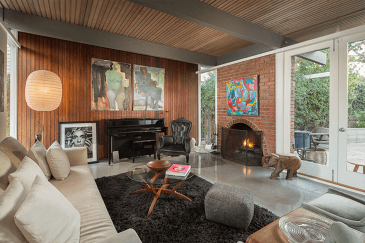 Silver Lake Mid-Century Home For Sale