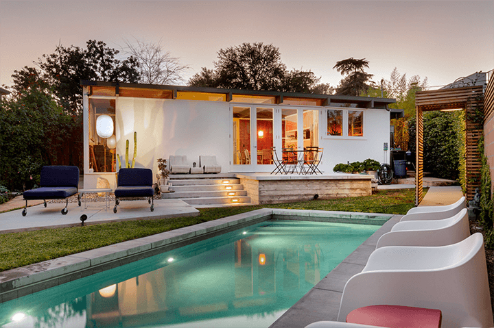 Silver Lake Mid-Century House For Sale