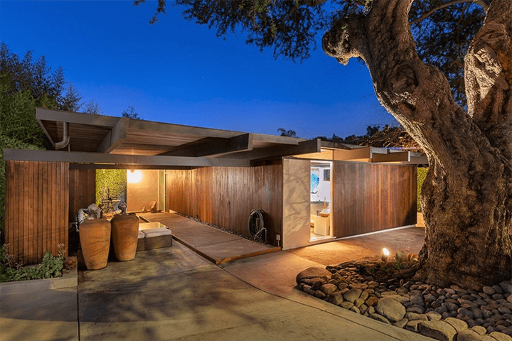 Silver Lake Mid-Century Residence For Sale