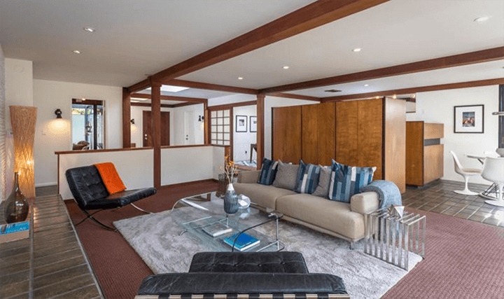 The Squire House by Pierre Koenig for sale in La Canada