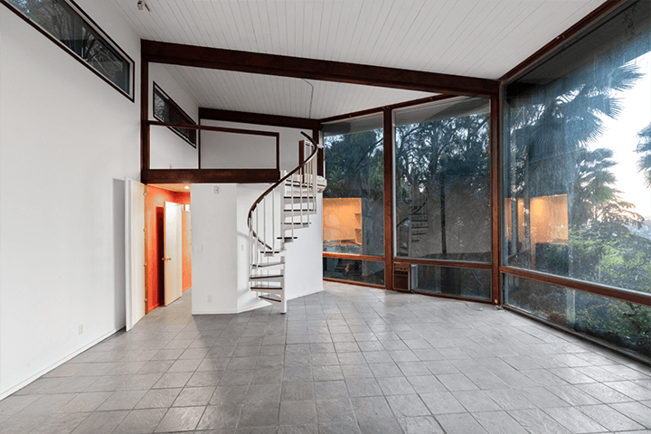 Mid-century fixer in the Hollywood Hills CA
