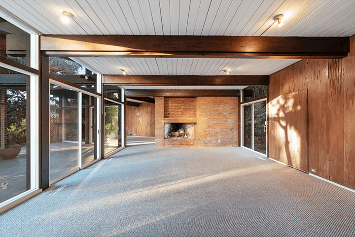 Mid-century fixer in the Hollywood Hills