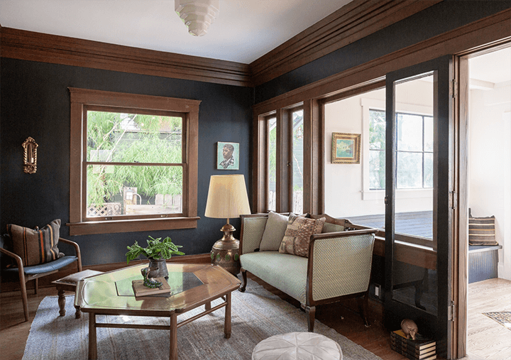 Restored Angelino Heights Craftsman for sale