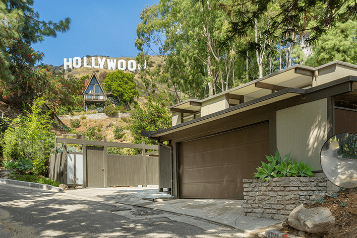 Robert Malinoff midcentury home for sale in the Hollywood Hills