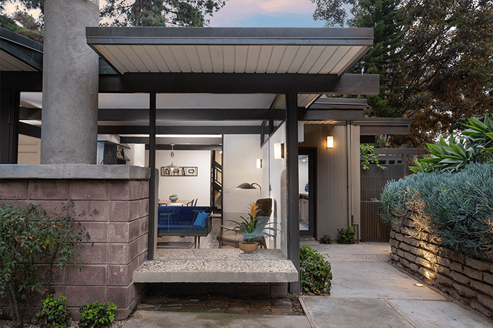 Robert Malinoff midcentury house for sale in the Hollywood Hills CA