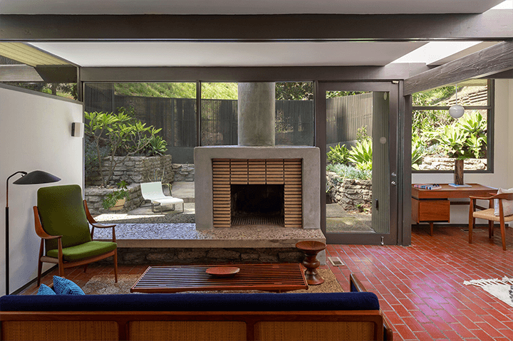 Robert Malinoff midcentury residence for sale in the Hollywood Hills