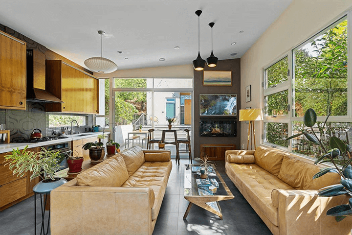 Two bedroom modern home for sale in Echo Park CA