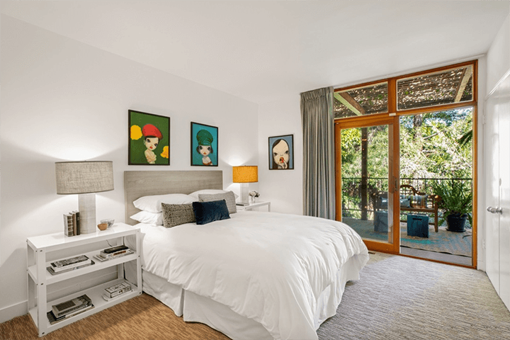 Hollywood Hills mid century home for sale