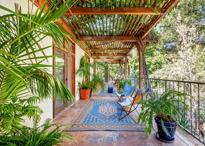 Hollywood Hills midcentury home for sale
