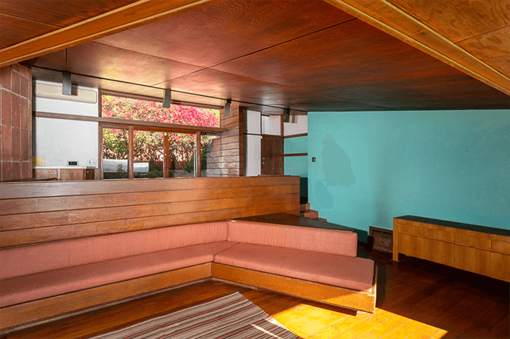 John Lautner's personal house for sale in Silver Lake