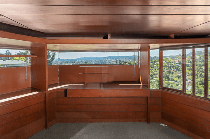 John Lautner's personal residence for sale in Silver Lake 90039