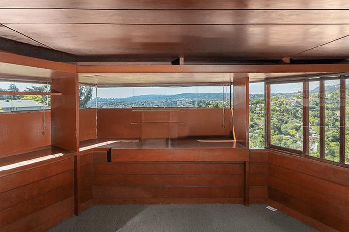 John Lautner's personal residence for sale in Silver Lake 90039