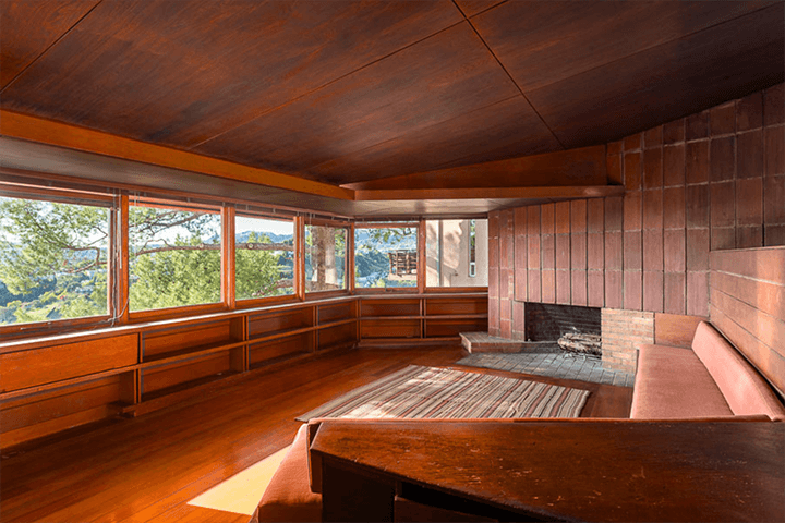 John Lautner's personal residence for sale in Silver Lake CA