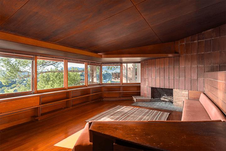 John Lautner's personal residence for sale in Silver Lake CA